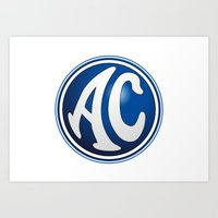 AC Cars Logo Art Print