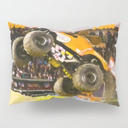 Awesome Monster Jam Trucks Pillow Sham