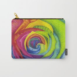 Rainbows of Roses Carry-All Pouch