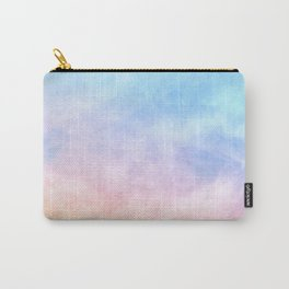 Pastel Watercolor Clouds Carry-All Pouch