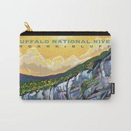 Buffalo National River Art by Sarah Bliss Rasul Carry-All Pouch