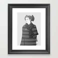 The Most Stylish Couple in Galactic 2 Framed Art Print