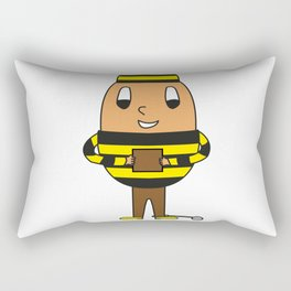 Egg Criminal Rectangular Pillow