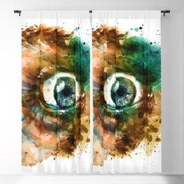Fear Eye Blackout Curtain
