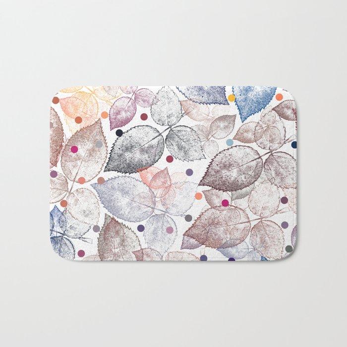 Leaf mosaic(24). Bath Mat