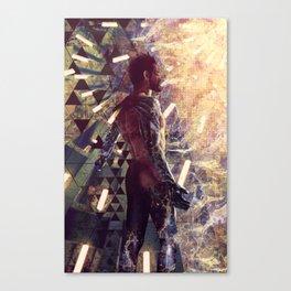 DX: Adam Jensen Canvas Print
