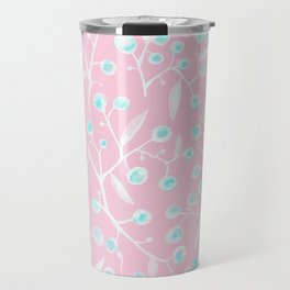 skyberries in pink forest Travel Mug