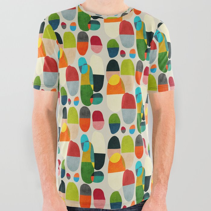 Jagged little pills All Over Graphic Tee
