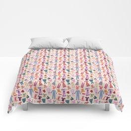 Dress Papercut Pattern - baby Yellow Comforters