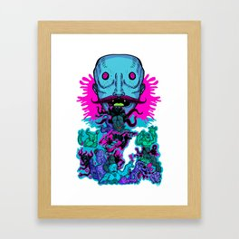 Mega Face Master Framed Art Print