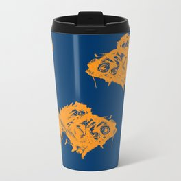 Goldfish Metal Travel Mug