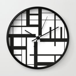 Lines #3 Wall Clock