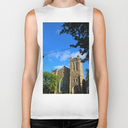 Church in the Mountains Biker Tank