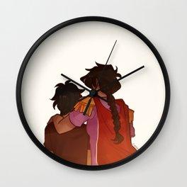 Reyna & Nico Wall Clock