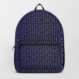 Binary Blue Backpack