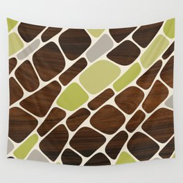 Cell in Green Wall Tapestry
