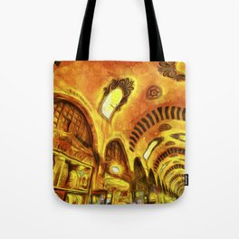 Spice Bazaar Van gogh Tote Bag