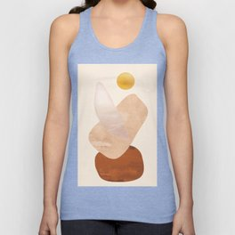 Abstact Shapes Unisex Tank Top