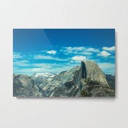 Half Dome, Yosemite, California, USA Metal Print