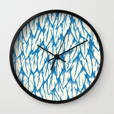Feathered Fringe Wall Clock