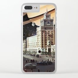 Ring of Saturn Clear iPhone Case