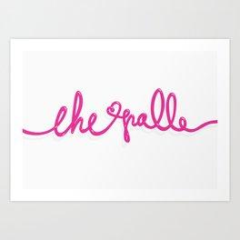CHE PALLE Art Print