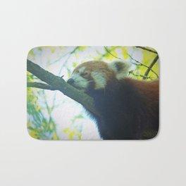 Red panda Bath Mat