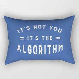 Blame the Social Media Algorithm Rectangular Pillow