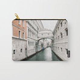 Italy | Venice | Canals |Travel photography | Architecture of Venice | Pastel colored buildings and the canals Carry-All Pouch