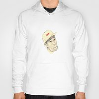 tyler spangler Hoodies featuring Tyler by withapencilinhand