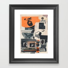 Indexe Framed Art Print