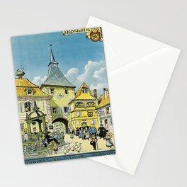 manifesto rosheim au mont ste. odile. 1930 Stationery Cards