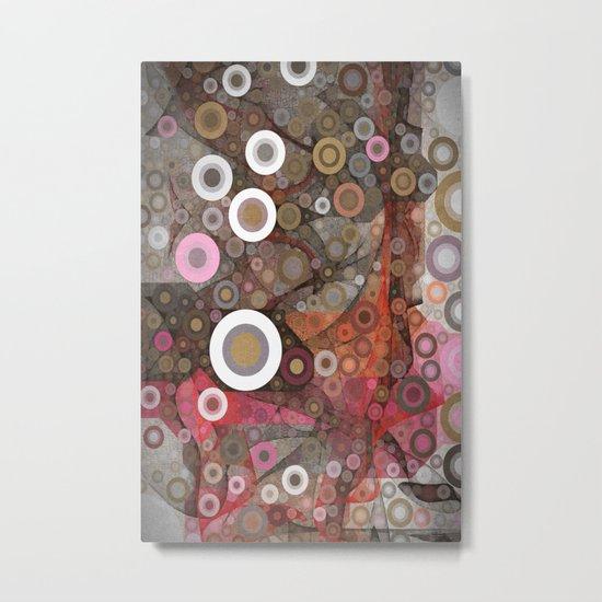 Kringles Art Flow Metal Print