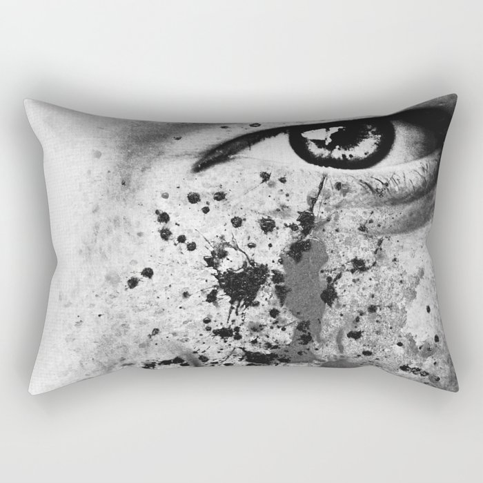 Anonymous - Ella 4 Rectangular Pillow