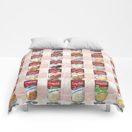 Campbell's Soup Comforters