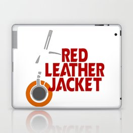 Red Leather Jacket Laptop & iPad Skin
