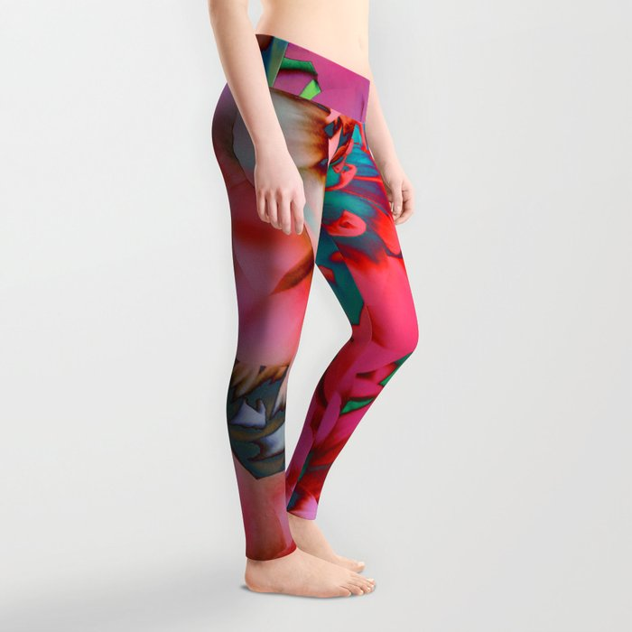 Proud Dahlias 2 Leggings