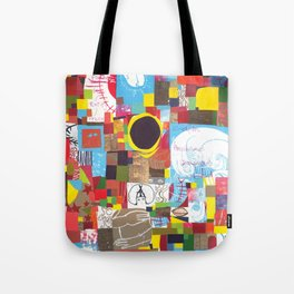 Microcosm Collage Tote Bag