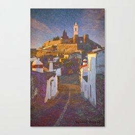 Monsaraz at dawn Canvas Print