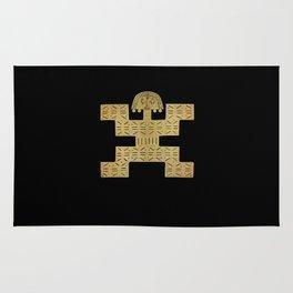Pectoral Pre-Columbian Gold Piece Rug