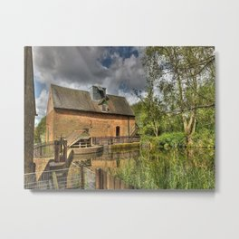 New Hall Mill Metal Print