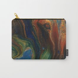 Earth Fire Lava Flow Cells Carry-All Pouch
