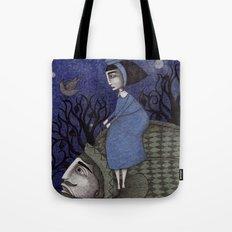 Kingfisher's Invitation to Tea (2) Tote Bag