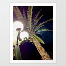 California Lamppost Dreamin' Art Print