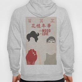 In the mood for love, minimal movie poster, Wong Kar-wai, Tony Leung, Maggie Cheung, Hong Kong film Hoody