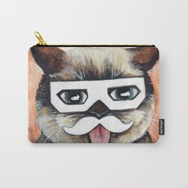 Dubstep Cat - Cats with Moustaches Carry-All Pouch