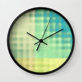 chlorine in the pool Wall Clock