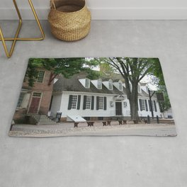 White Clapboard House - Colonial Williamsburg Rug