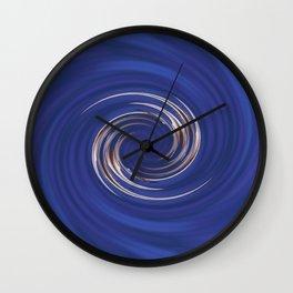 Swirls of Color Wall Clock