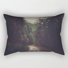 Wander inside the mountains Rectangular Pillow